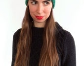 The Mina (Top Braided Headband) shown in Spearmint
