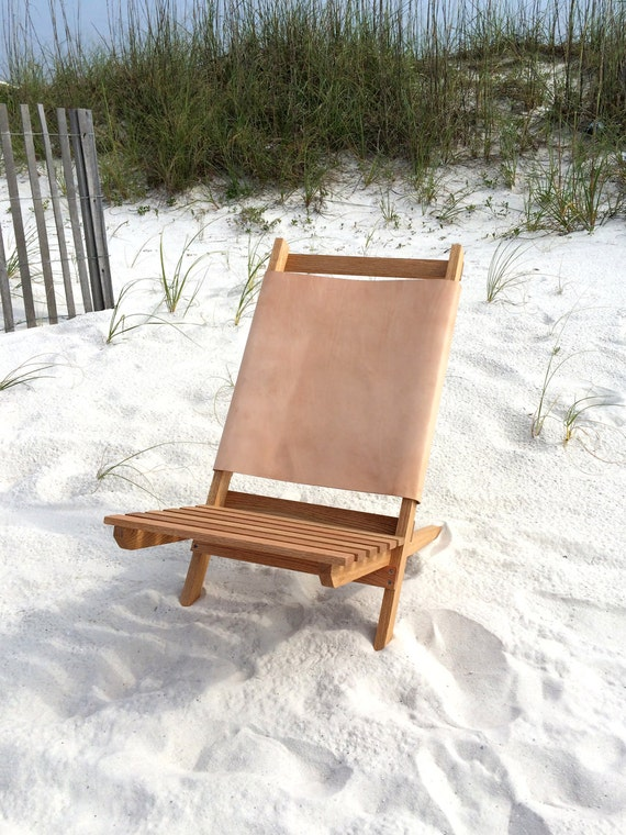 Leather Camp Chair By Postdallas On Etsy
