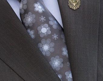 Persian Cat brooch - Gold