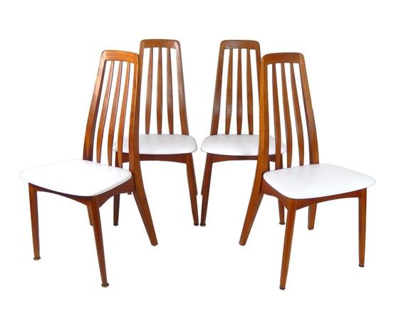 Mid Century Modern Teak Dining Chairs Set of Four Chairs : il570xN6269124377nz4 from www.etsy.com size 570 x 454 jpeg 37kB