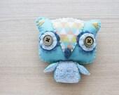 Owl Plush - cute accessories -  Kawaii - READY TO SHIP