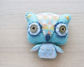 Owl Plush - cute accessories -  Kawaii - READY TO SHIP