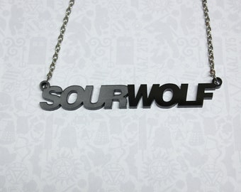 Sourwolf necklace