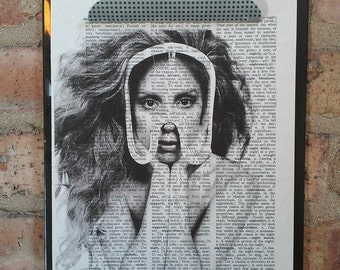 Lady Gaga Artpop Print