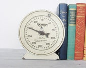Vintage Hanson Scales Repurposed Bookends Industrial Home Decor
