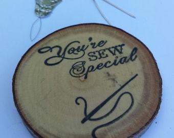 You're sew special, sewing themed, fridge magnet, refrigerator magnet, thank you, thank you gift, sewing, so much fun