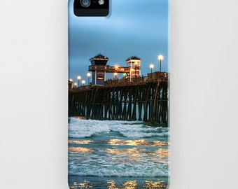Beach iPhone 6s Case - iPhone 6s Plus Cover - Ocean iPhone 5s Case -Ocean iPhone 5C Case - Dramatic iPhone 6 Case - Blue iPhone 4/4s Case