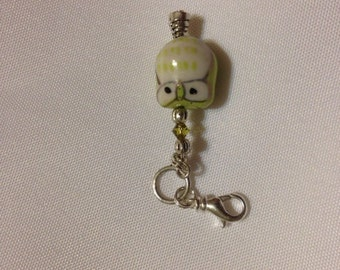 Owl Zipper Pull