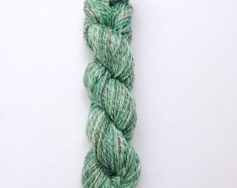 Hand Spun Worsted Weight Yarn, Knitting Yarn, 50/50 Merino/Tencel, 115g/158 yards