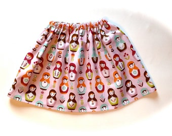 Twirl Skirt - Girls Skirt - Blue Skirt - Baby-Toddler-Girls Skirt