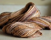 Handspun Yarn- Sport Weight 50/50 Merino/Silk, 342 yds/ 312 m Blissful