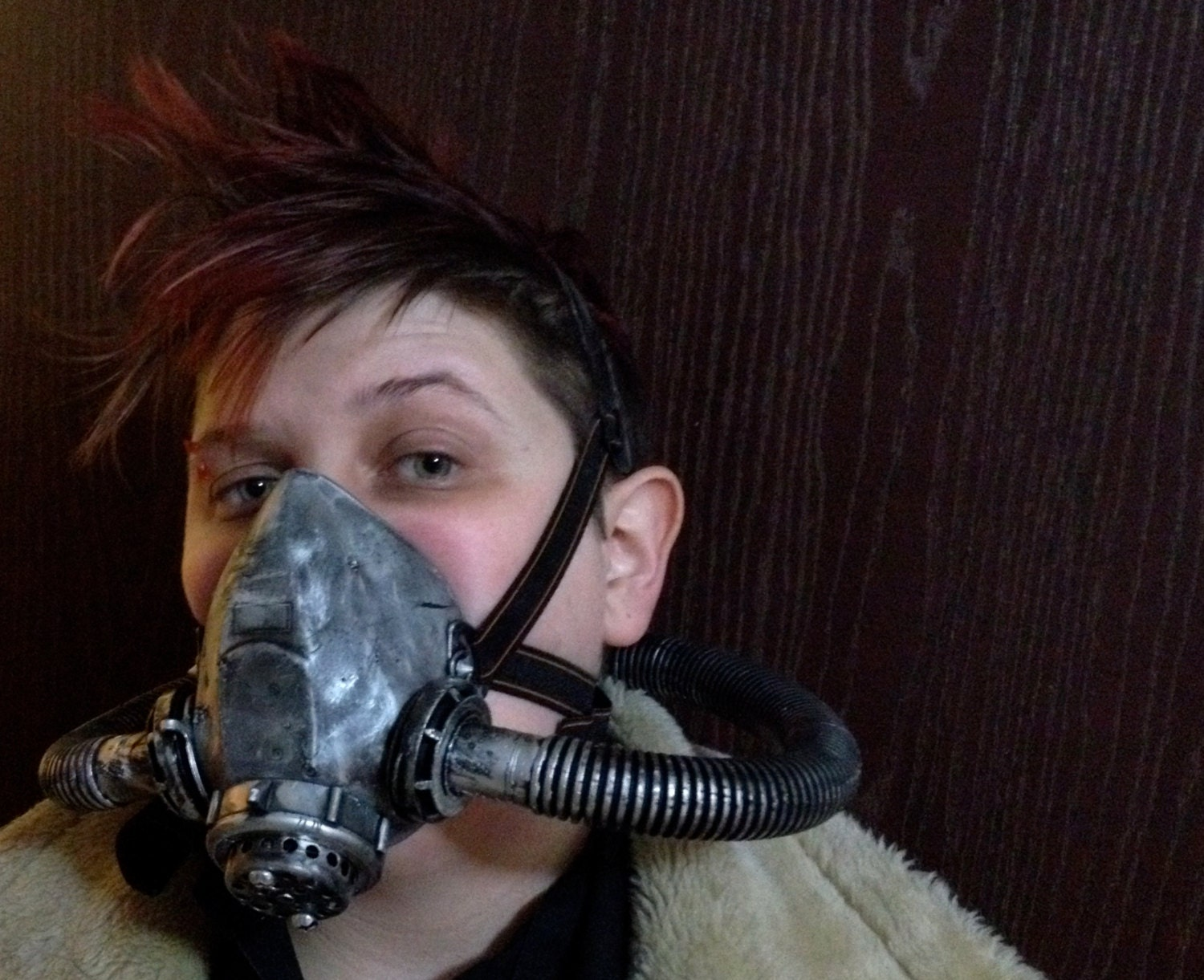 Fallout Wasteland Functional Gas Mask / Respirator Steampunk