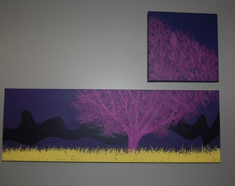 Tree Painting -Acrylic on Canvas