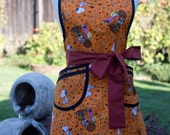 Apron - Vintage Style Retro - Fall Fun with Charlie Brown