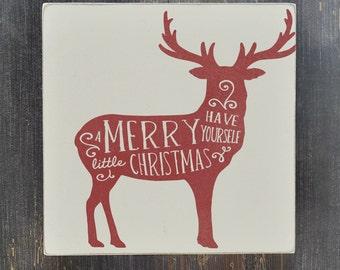 Christmas Decor, Christmas Sign, Christmas Decoration, Christmas Gift, Holiday Decor, Wood Sign