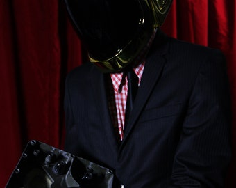 Golden Helmet + Gloves + Balaclava