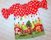 Girls Red Dress 18 Months Ready To Ship Boutique Clothing By Lucky Lizzy's