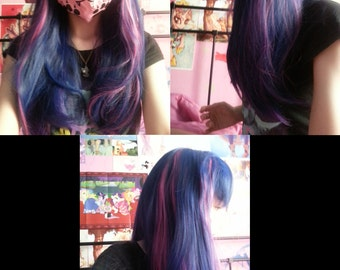 MADE TO ORDER Twilight Sparkle My Little Pony cosplay wig