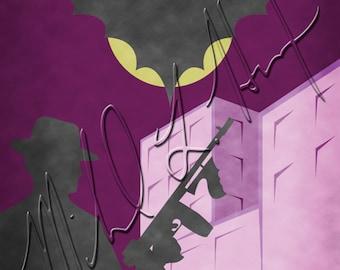 Batman Minimalist Print