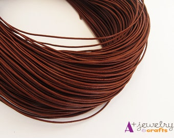 Leather cord, brown leather, findings, brown leather cord, brown cord, beading, beading supplies