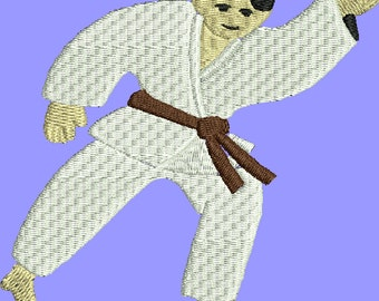 Dollar off sale embroidery design karate Embroidery Design