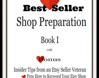How to Open a Shop-How to Set Up Shop-Open Shop-Shop Preparation Starter and Business Branding-How to Google Keyword-Book 1 for Etsy Sellers