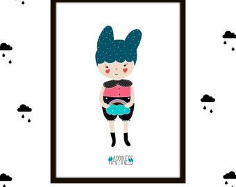 Print- Happiness-