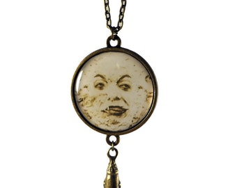 A Trip to the Moon Necklace
