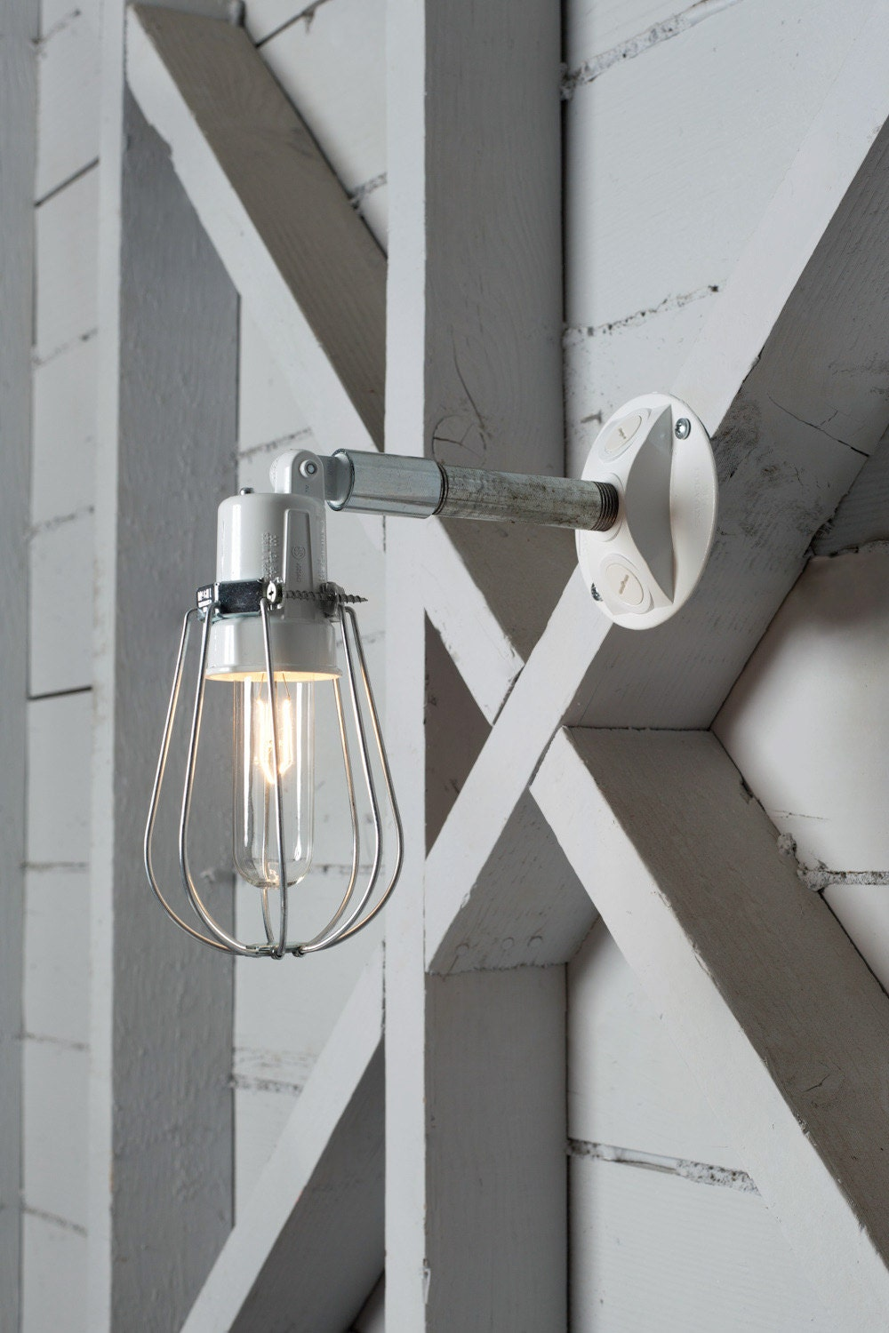 Outdoor wall light exterior wire cage wall sconce lamp for Exterior light sconce