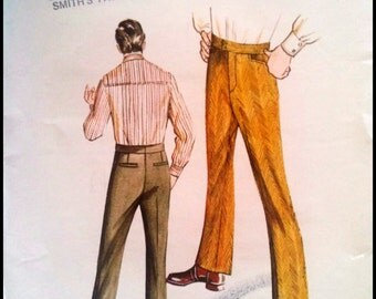 Kwik Sew Pattern  323 Men's Slacks  Sizes(36-40)