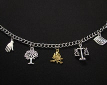 MOVIE INSPIRED CHARM Bracelet - Inspired by a Popular Book & Movie Series - Not A Licensed Product - Custom Orders Welcome