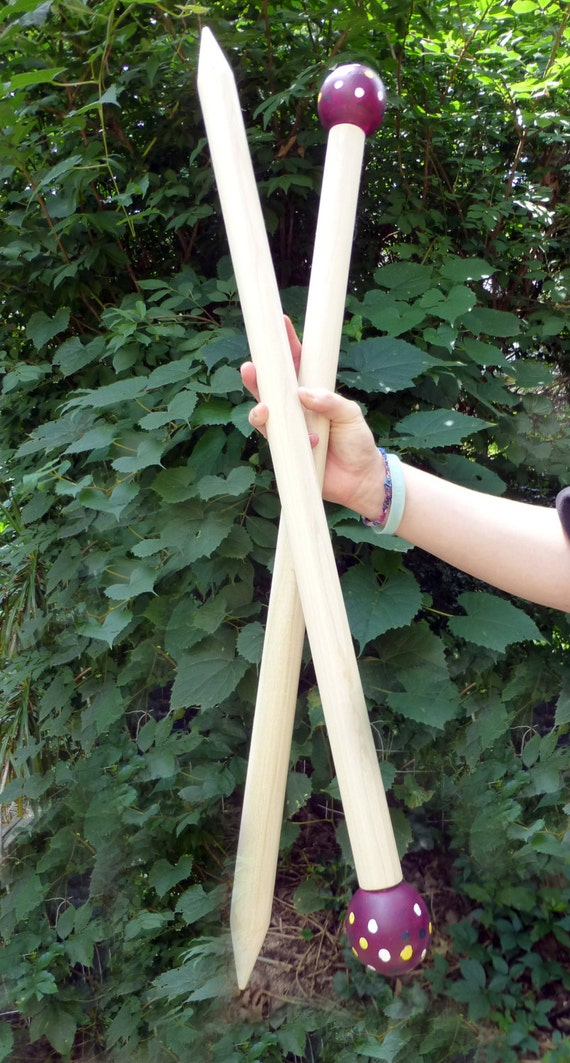 "Giant Knitting Needles, 24"" Jumbo, Giants,SMOOSH STIX, Made for Smoosh Yarn."