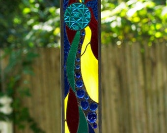 Stained Glass Art Panel