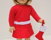 American Girl Doll Clothes and Accessories - Traditional Christmas