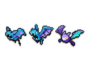 Pokemon Perler - Zubat / Golbat / Crobat