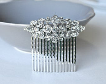 Vintage Inspired bridal hair comb,crystal hair comb,Swarovski hair comb,wedding hair comb,bridal hair accessories,wedding hair, HC009
