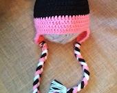 Super cute and fun Minnie Mouse Hat Beanie