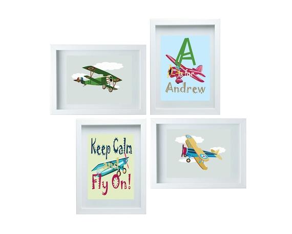 Https Www Etsy Com Listing 177518866 Aviation Decor Airplane Nursery Decor