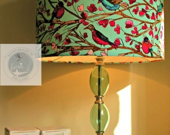 Bright  Birds Lampshade / Light Fitting FREE UK DELIVERY
