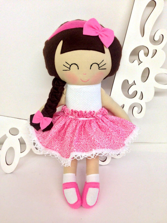 Cloth Baby Doll Fabric Dolls Soft Dolll Handmade Doll Rag