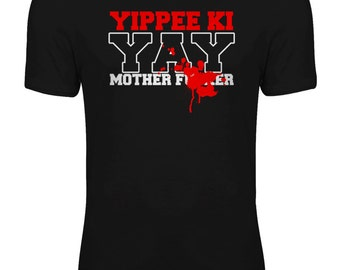 Die Hard - Bruce Willis - Yippee Ki Yay Action Movie Womens T-shirt