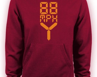 Back to the Future - 88mph Movie Hoodie
