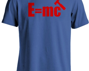 MC Hammer - E Equals MC Hammer Funny Retro Eighties T-shirt