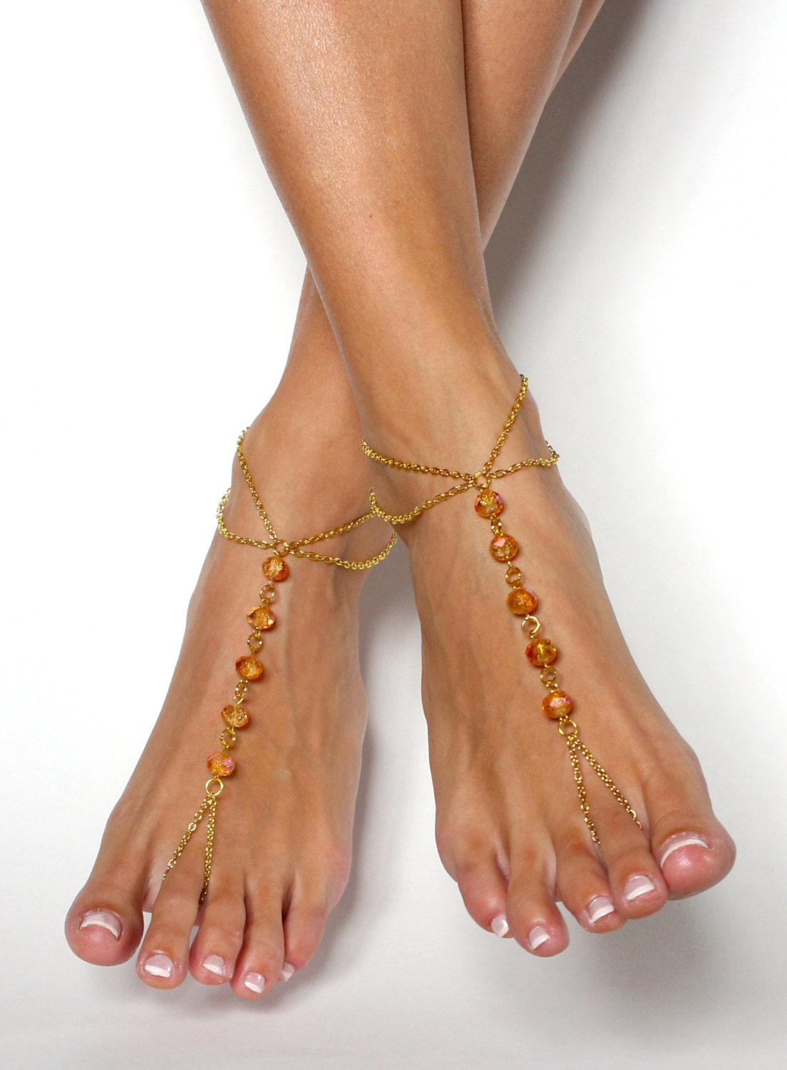 Aliexpress.com : Buy Hansel & Wang Barefoot Sandals Foot Jewelry Antique Anklet Fashion Coin Leg