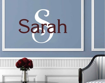 Girls Name Wall Decal - Letter Wall Decor - Personalized Wall Art