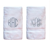 Monogram Hand Towels (Pair)