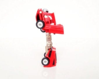 Vintage Bandai Gobot Transformer Toy Car