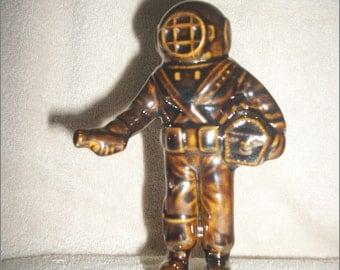 Small Ceramic Deep Sea Diver Figurine