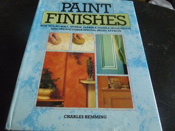 Paint finishes how to rag roll sponge marble stipple wood Special paint finishes