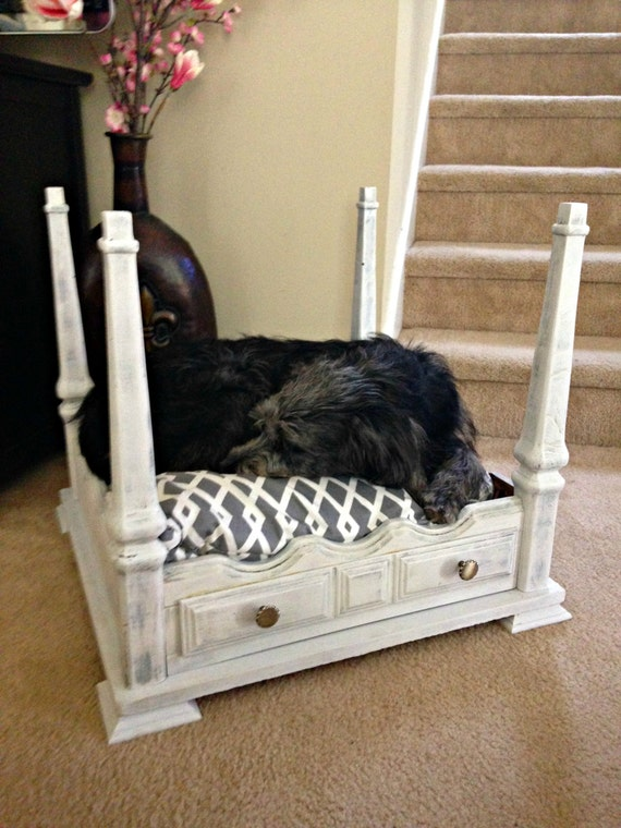 items similar to four poster pet bed on etsy